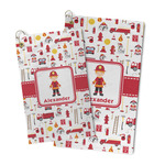 Firefighter Character Microfiber Golf Towel (Personalized)