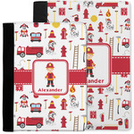 Firefighter Character Notebook Padfolio w/ Name or Text