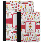 Firefighter Character Padfolio Clipboard (Personalized)