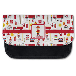 Firefighter Character Canvas Pencil Case w/ Name or Text