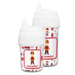 Firefighter Character Sippy Cup (Personalized)