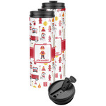 Firefighter Character Stainless Steel Skinny Tumbler (Personalized)
