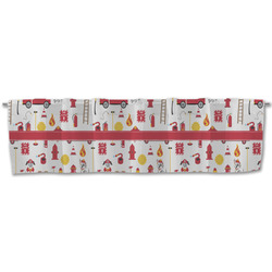 Firefighter Character Valance (Personalized)