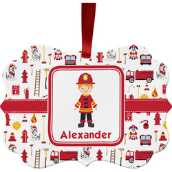 Firefighter for Kids Ornament (Personalized)
