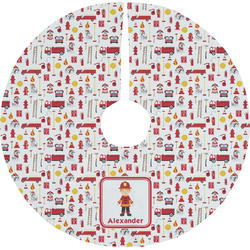 Firefighter for Kids Tree Skirt (Personalized)
