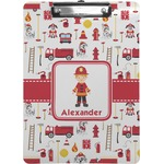 Firefighter for Kids Clipboard (Personalized)