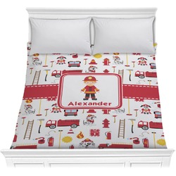 Firefighter Comforter (Personalized)