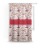 Firefighter Character Curtain (Personalized)