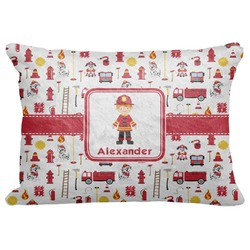 "Firefighter Decorative Baby Pillowcase - 16""x12"" (Personalized)"