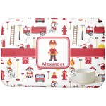 Firefighter for Kids Dish Drying Mat (Personalized)