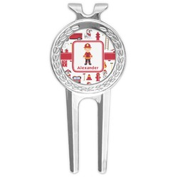 Firefighter for Kids Golf Divot Tool & Ball Marker (Personalized)