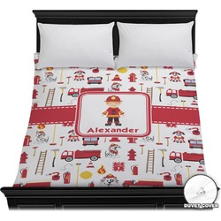 Firefighter Duvet Cover (Personalized)