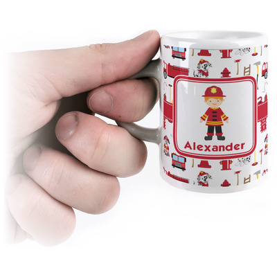 Firefighter for Kids Espresso Cups (Personalized)