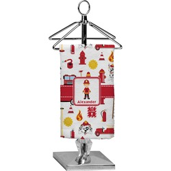 Firefighter for Kids Finger Tip Towel - Full Print (Personalized)