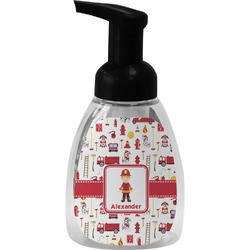 Firefighter Character Foam Soap Bottle (Personalized)