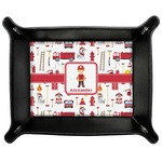 Firefighter for Kids Genuine Leather Valet Tray (Personalized)