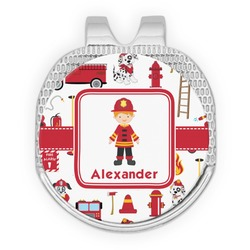 Firefighter for Kids Golf Ball Marker - Hat Clip