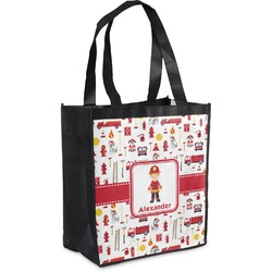 Firefighter for Kids Grocery Bag (Personalized)