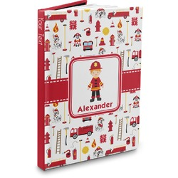 Firefighter Character Hardbound Journal (Personalized)