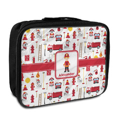Firefighter Character Insulated Lunch Bag w/ Name or Text