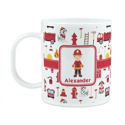Firefighter Plastic Kids Mug (Personalized)