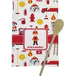 Firefighter for Kids Kitchen Towel - Full Print (Personalized)