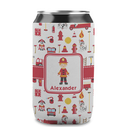 Firefighter Character Can Sleeve (12 oz) w/ Name or Text