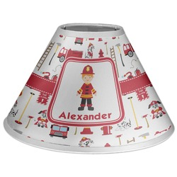 Firefighter Character Coolie Lamp Shade (Personalized)