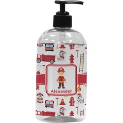 Firefighter Plastic Soap / Lotion Dispenser (Personalized)