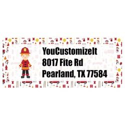 Firefighter for Kids Return Address Labels (Personalized)
