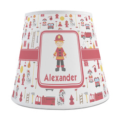 Firefighter Character Empire Lamp Shade (Personalized)
