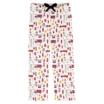 Firefighter Character Mens Pajama Pants (Personalized)