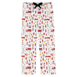 Firefighter Mens Pajama Pants (Personalized)