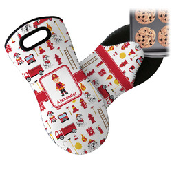 Firefighter for Kids Neoprene Oven Mitt (Personalized)