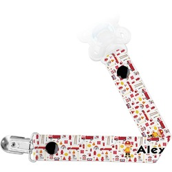 Firefighter Pacifier Clips (Personalized)