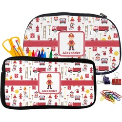 Firefighter for Kids Pencil / School Supplies Bag (Personalized)