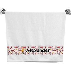 Firefighter Bath Towel (Personalized)