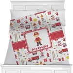 Firefighter for Kids Blanket (Personalized)