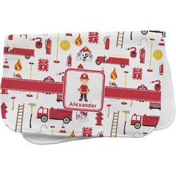 Firefighter Burp Cloth (Personalized)