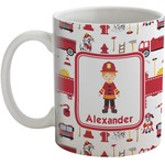 Firefighter Character Coffee Mug (Personalized)