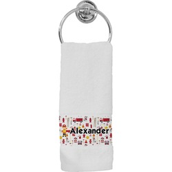 Firefighter Hand Towel (Personalized)
