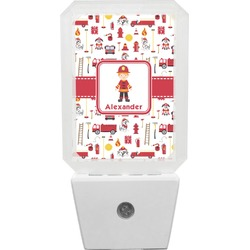 Firefighter for Kids Night Light (Personalized)