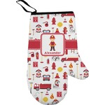 Firefighter Right Oven Mitt (Personalized)