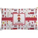 Firefighter Character Pillow Case - Standard w/ Name or Text