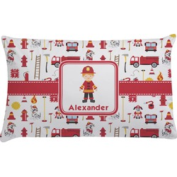 Firefighter Character Pillow Case (Personalized)