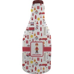 Firefighter for Kids Wine Sleeve (Personalized)