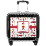 Firefighter Character Pilot / Flight Suitcase w/ Name or Text