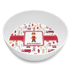 Firefighter for Kids Melamine Bowl 8oz (Personalized)