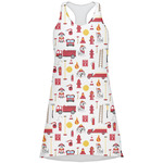 Firefighter Character Racerback Dress (Personalized)