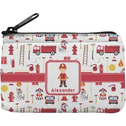Firefighter for Kids Rectangular Coin Purse (Personalized)